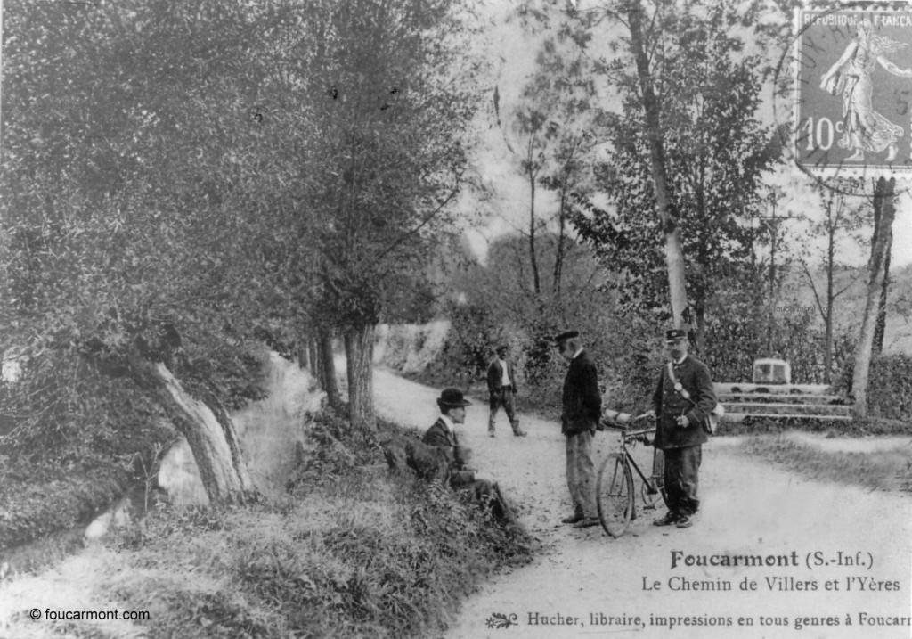 Chemin de Villers