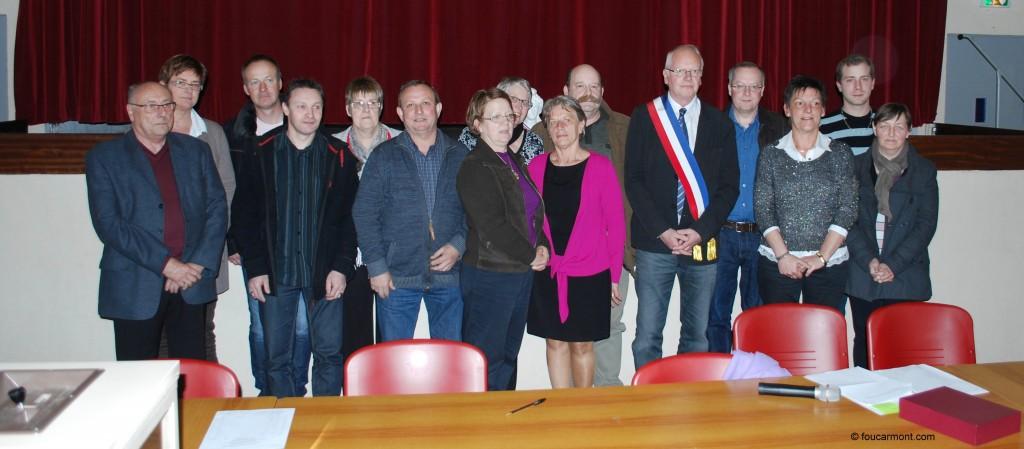 Le Conseil Municipal au complet