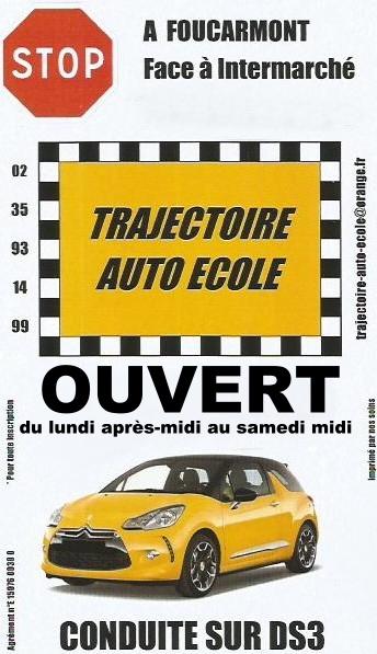Auto école Trajectoire