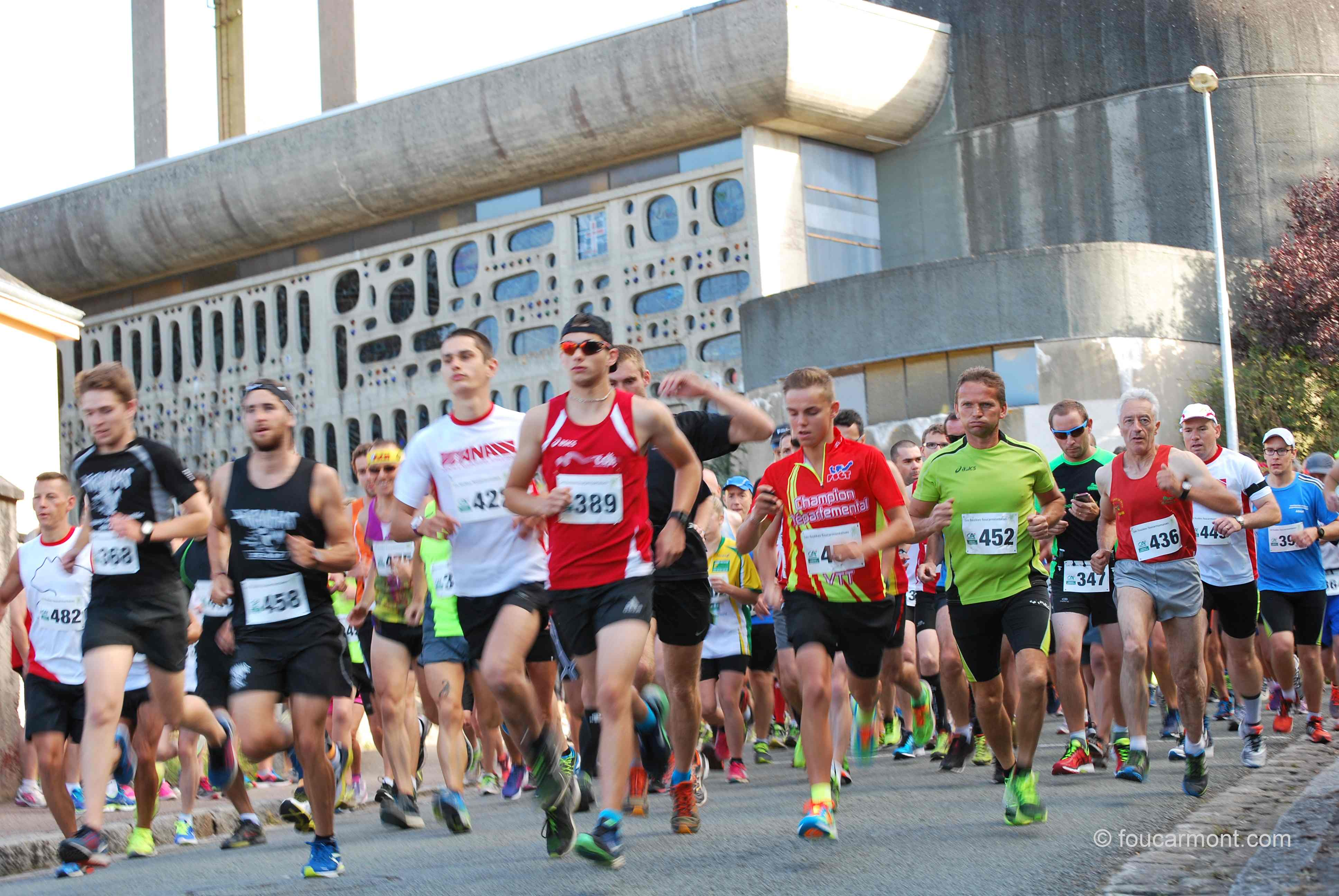 Départ course 2016