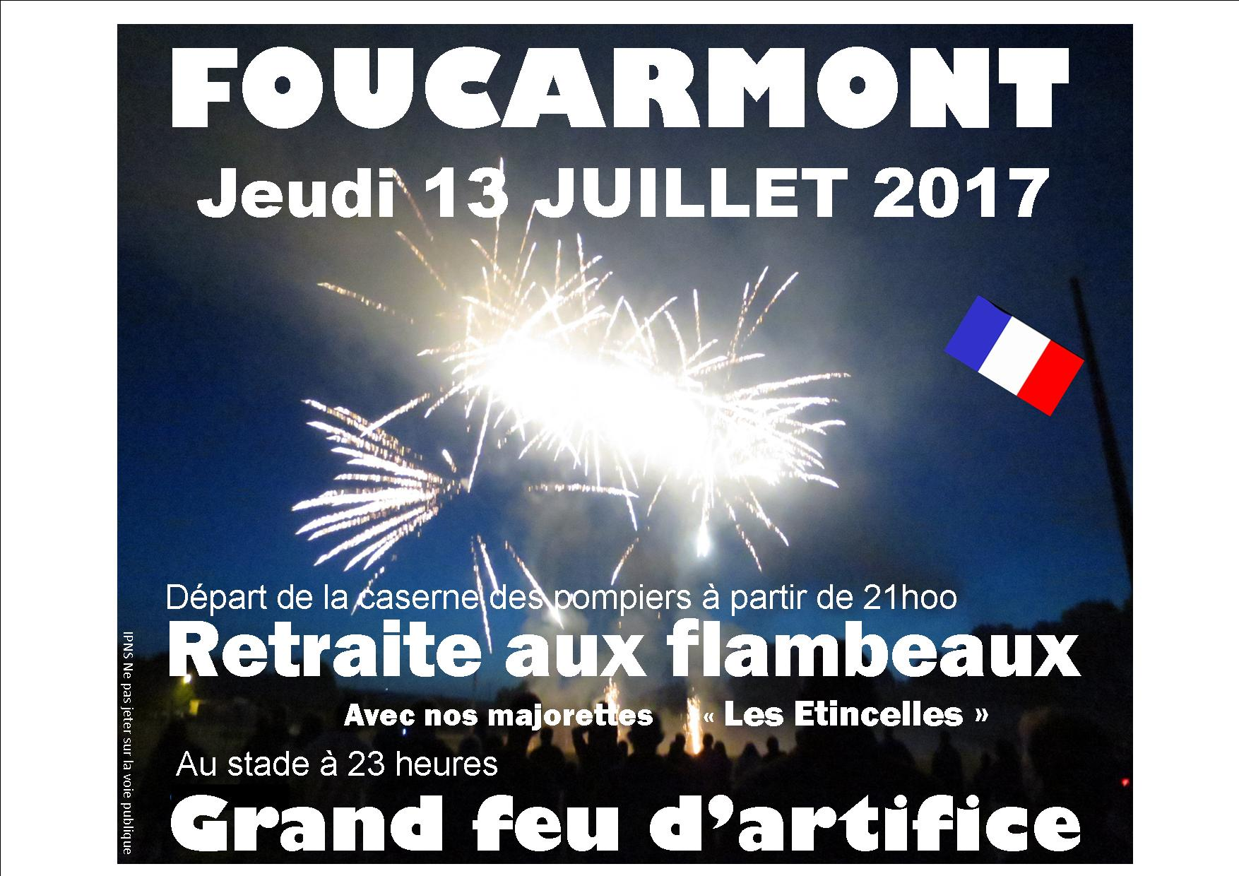 Feu d'artifice 2017